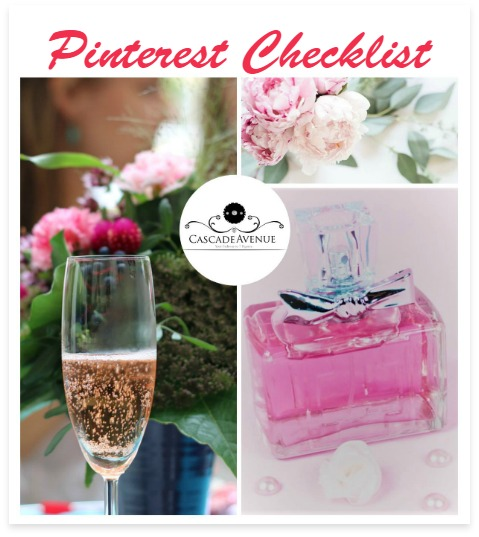 Free printable checklist for Pinterest
